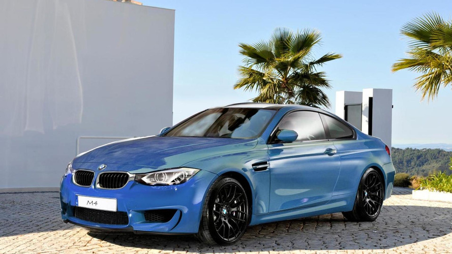 BMW M4 latest speculative rendering