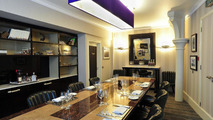 The Bentley Room at Mosimann's private dining club in London 26.08.2011