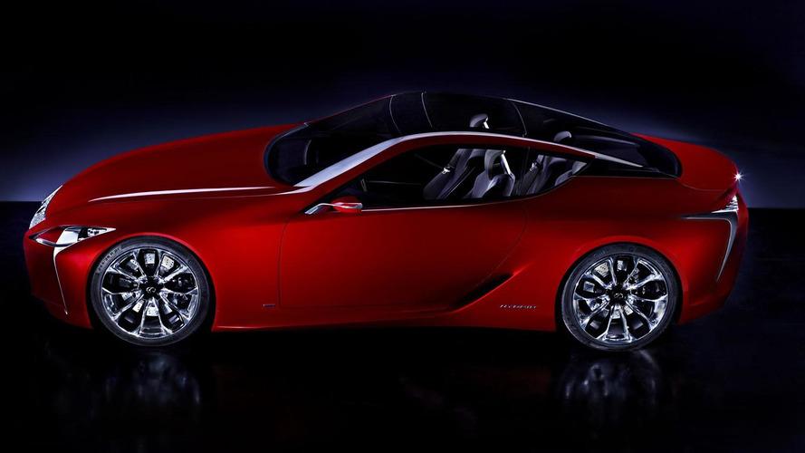 Lexus LF-LC gets official