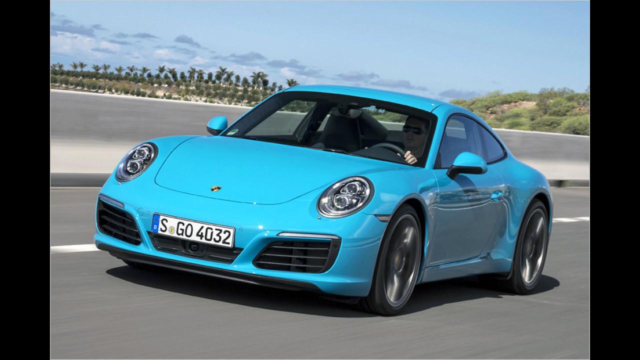 Platz 2: Porsche 911, 752 Neuzulassungen