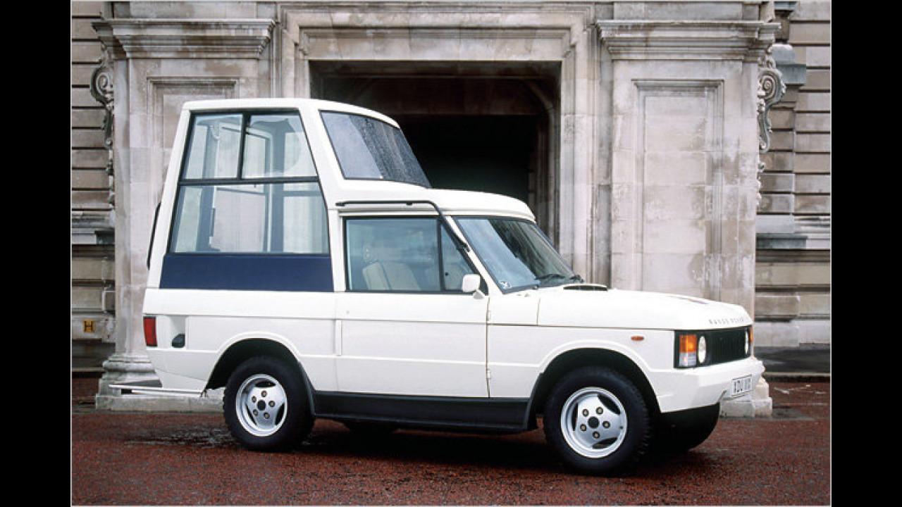Range Rover Papamobil