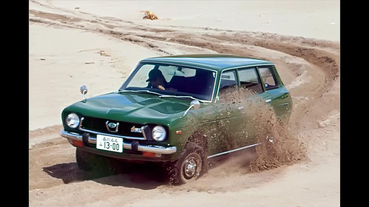 40 Jahre Subaru-Allradfahrzeuge