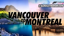 'Across the Horizon' adventure runs from Vancouver to Montreal