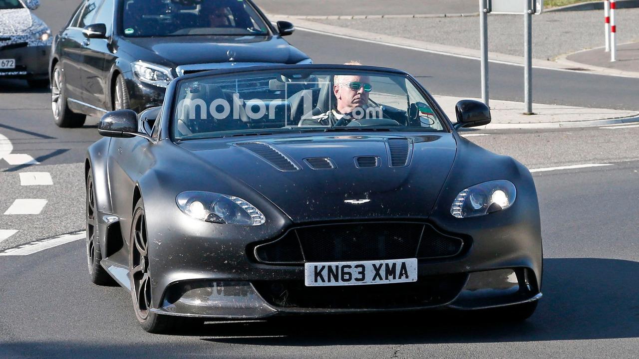 Aston Martin Vantage GT12 Roadster Spy Pics