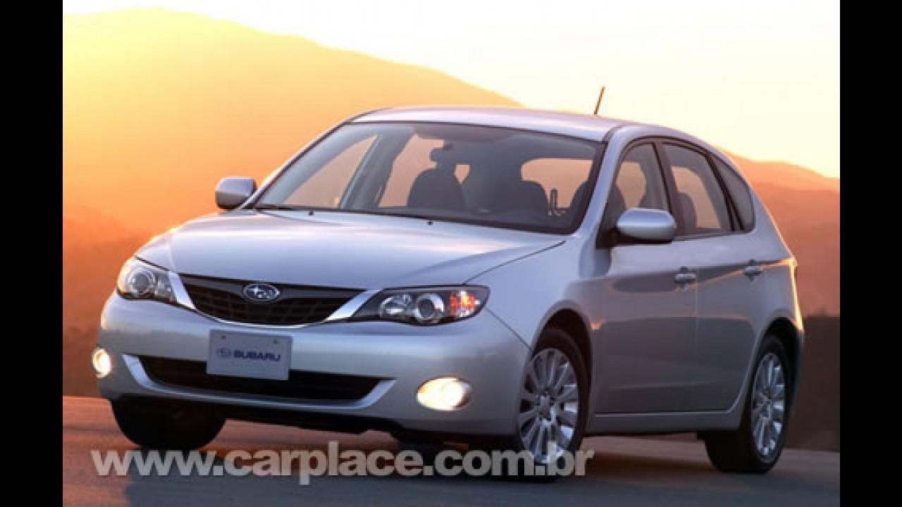 Subaru apresenta a linha 2009 do hatch Impreza WRX e do sedã Impreza 2.5 GT