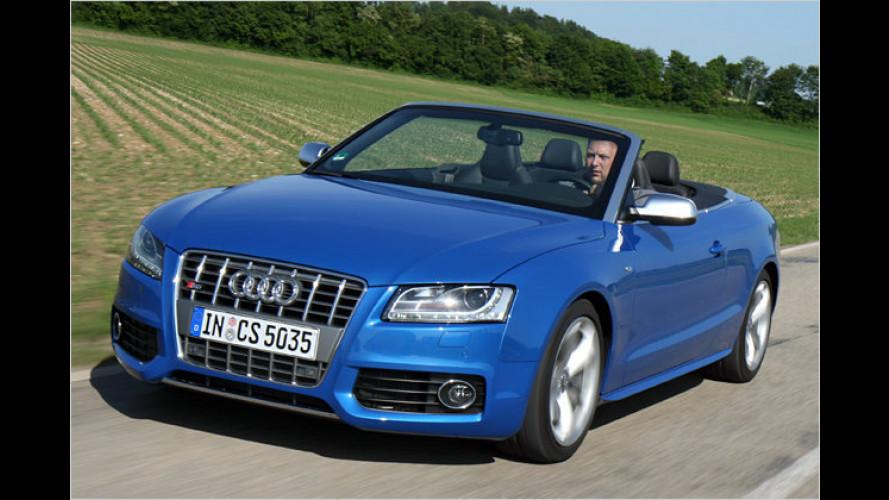 Audi S5 Cabriolet: Der Druckluft-Bolide im Test