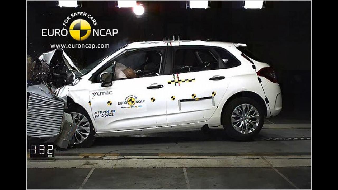 Ebenfalls sehr gut bewertet: Citroën C4