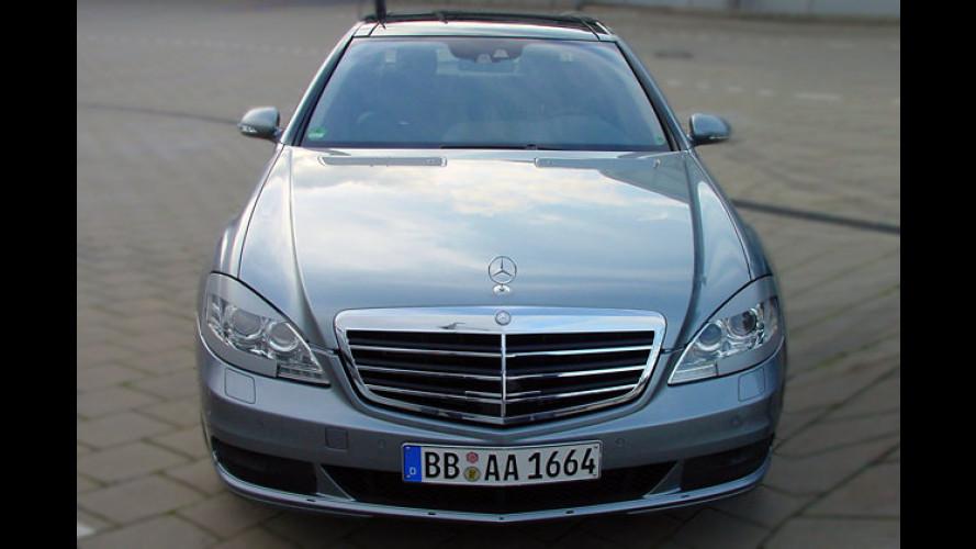 Dezente Retuschen für den Luxusgleiter von Mercedes