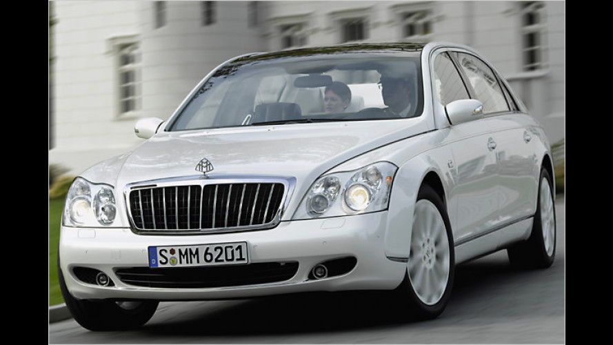 Maybach Landaulet: Die Serienversion steht in Genf