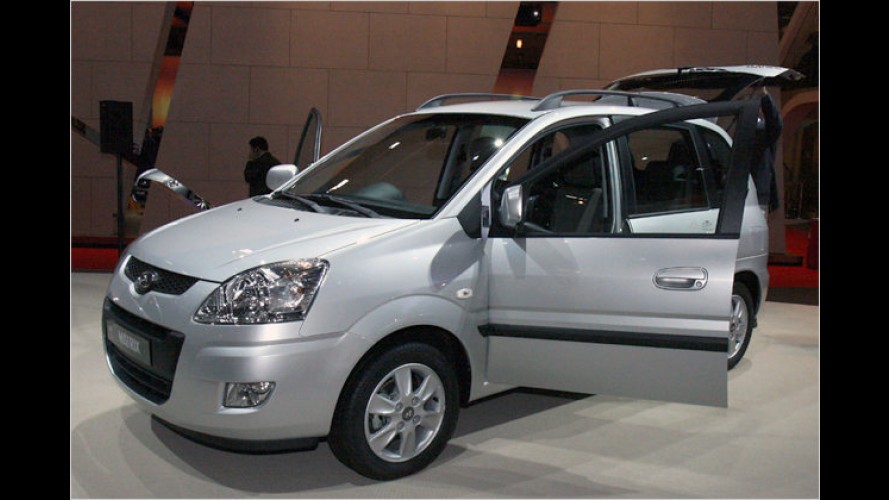 Matrix Reloaded: Hyundai zeigt Facelift für den Kompakt-Van