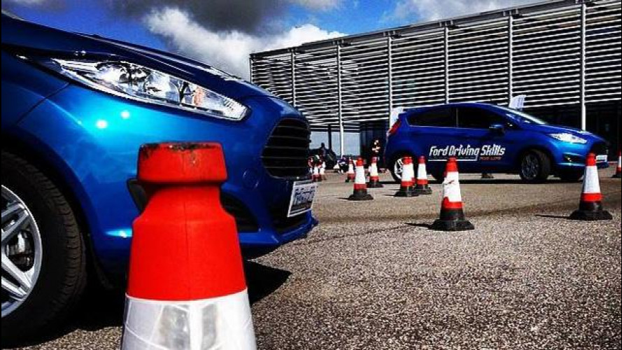 Ford, parte da Roma il Driving Skills for Life 2014