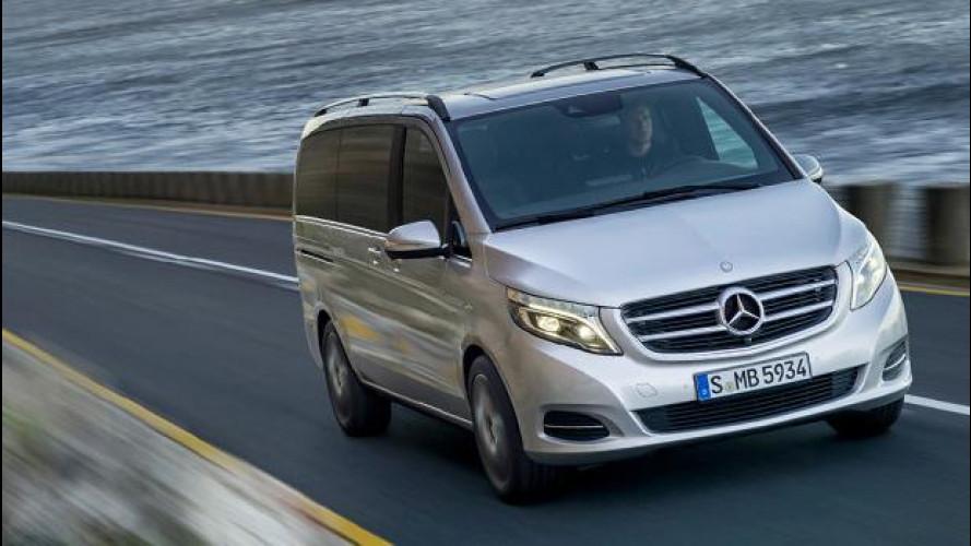 Mercedes Classe V, furgone addio