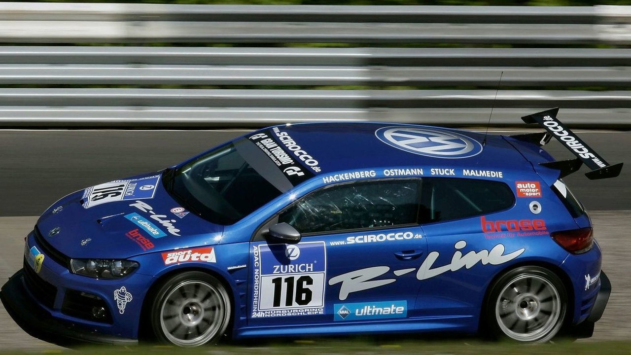 Volkswagen Scirocco race version
