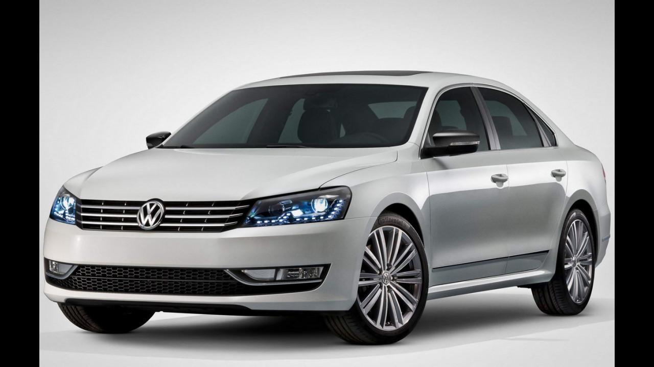 Volkswagen Passat Performance Concept a Detroit 2013
