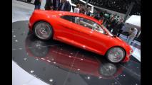 Audi R8 e-Tron Concept al Salone di Francoforte 2009