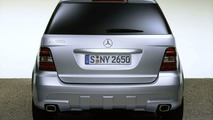 New AMG bodystyling for the M-Class
