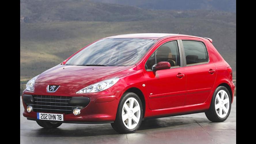 Peugeot: Familien-Gesicht für die 307-Reihe
