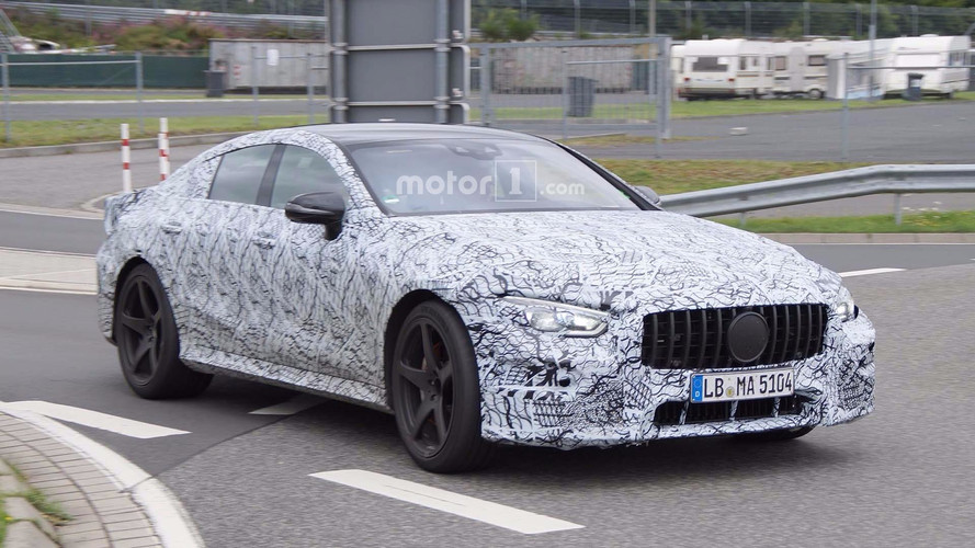 AMG GT Four-Door Spy Photos
