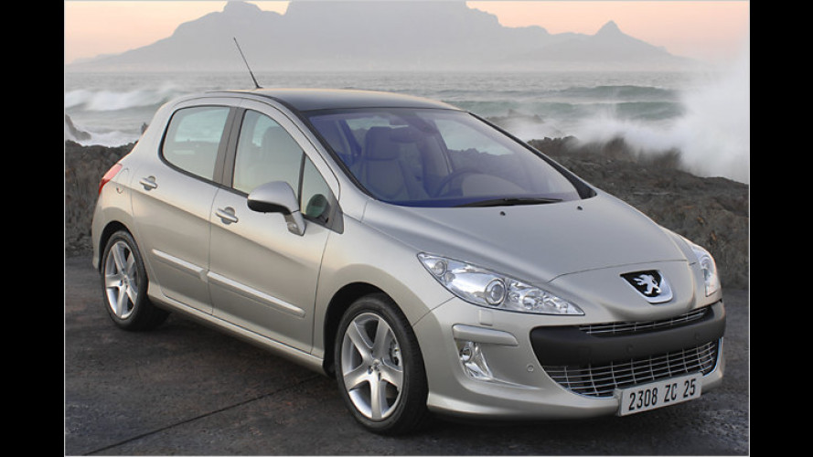 Die Anti-Erlkönig-Bilder: Erste Fotos vom Peugeot 308