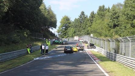 Dix blessés dans un accident sur la Nordschleife