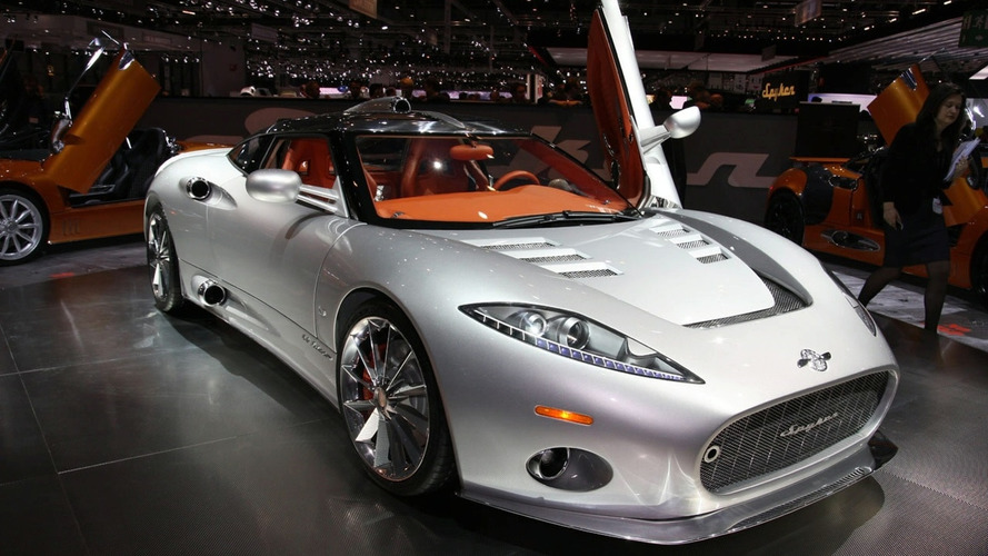 2009 Spyker C8 Aileron Revealed in Geneva