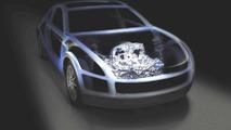 Subaru Boxer Sports Car concept / architecture (enhanced) - 22.2.2011