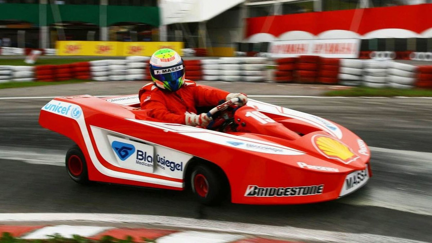 Massa speeds up kart race return to November