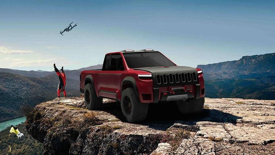 Projeção: Jeep Crusader é proposta de picape ainda mais bruta que o Wrangler