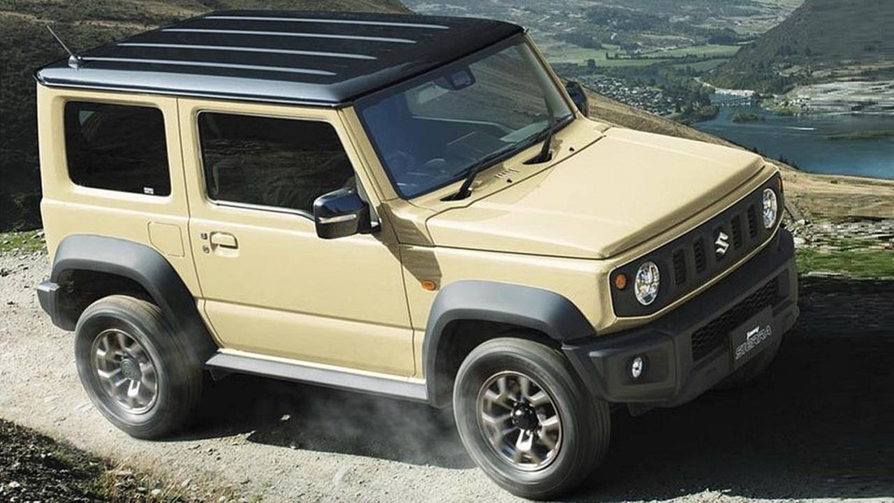 suzuki jimny see the changes side by side. Black Bedroom Furniture Sets. Home Design Ideas