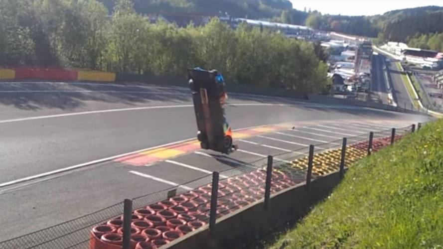 Footage emerges of terrifying crash during WEC race at Spa