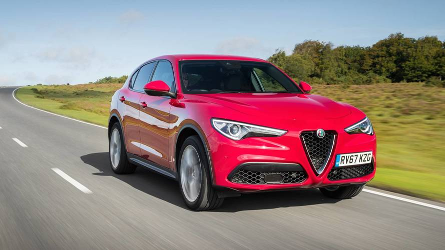 2017 alfa romeo stelvio review stylish likeable suv. Black Bedroom Furniture Sets. Home Design Ideas