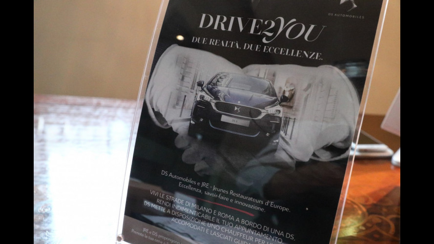 DS, long test drive all'insegna del gusto
