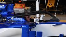 Sauber C36 with halo