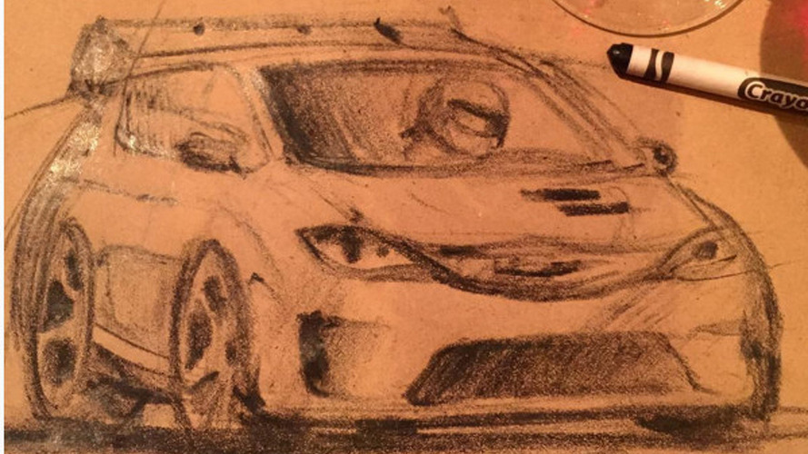 Chrysler Pacifica Hellcat gets sketched by Ralph Gilles
