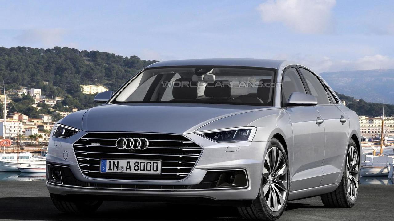 2017 Audi A8 render
