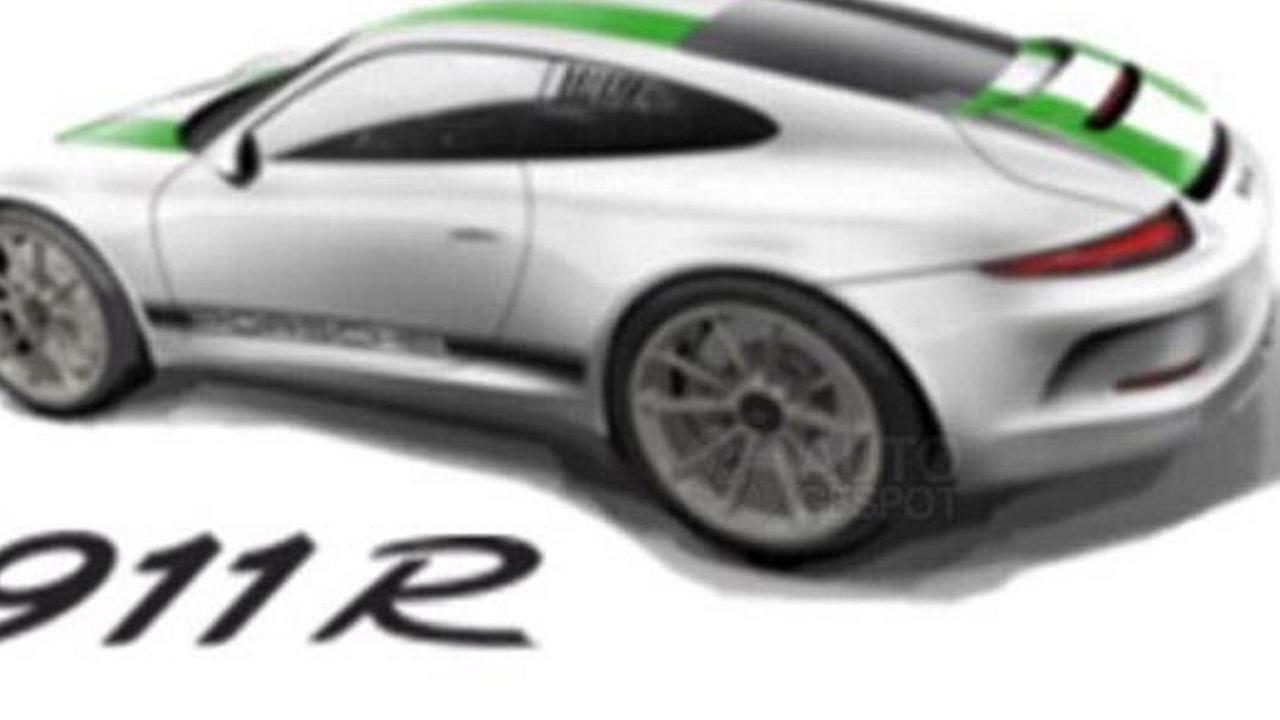 2016 Porsche 911 R (not confirmed)