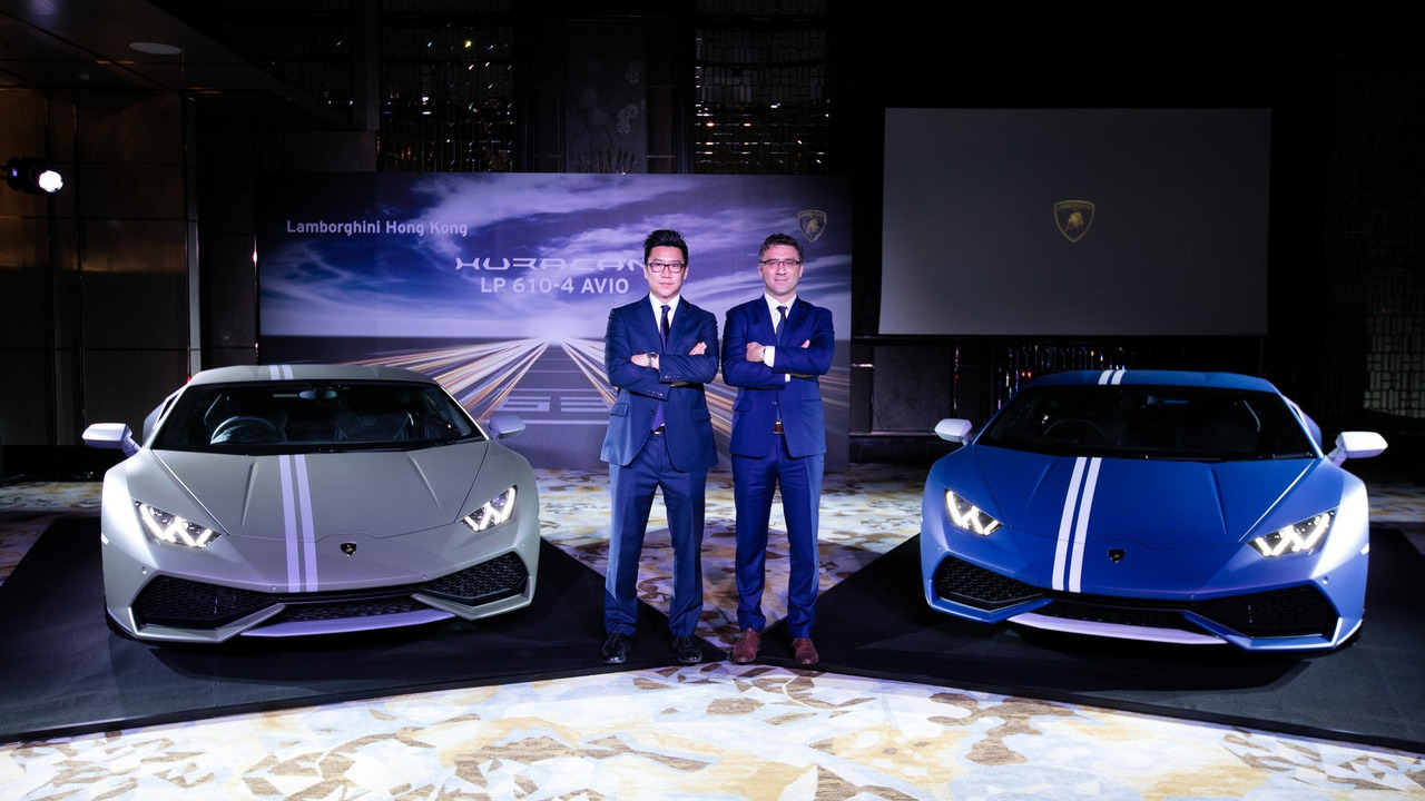 lamborghini huracan avio launches in hong kong at hk. Black Bedroom Furniture Sets. Home Design Ideas