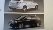 2010 Lexus RX 350 and 450h Brochure Image