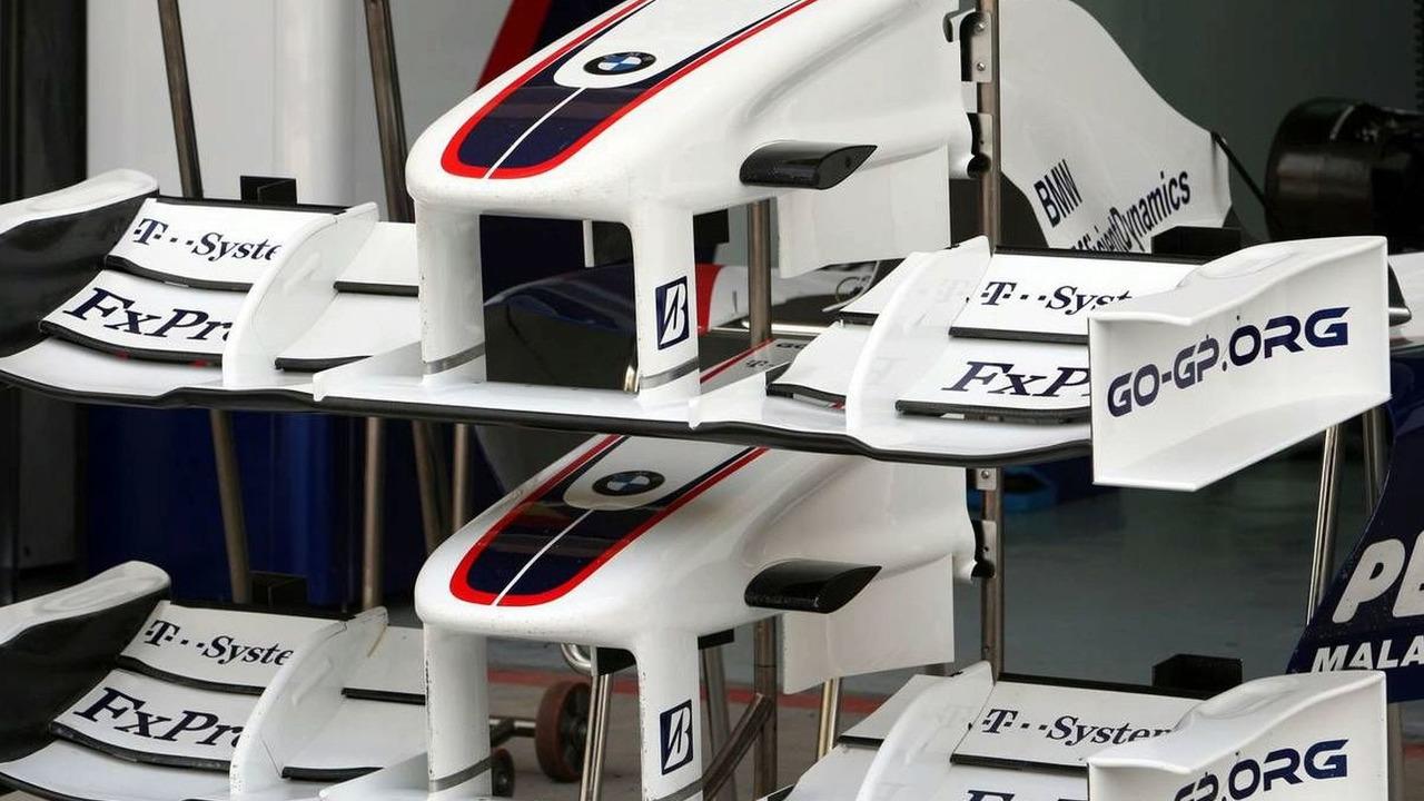 front wing and nose / Nick Heidfeld (GER), BMW Sauber F1 Team, Bahrain Grand Prix, Thursday, 23.04.2009 Manama, Bahrain