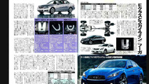 Infiniti M and G rumored to receive Mercedes E-Class platform, Best Car magazine, 28.05.2010
