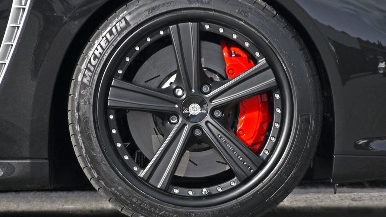 Porsche Panamera with Gemballa GT Sport R 22-inch wheels