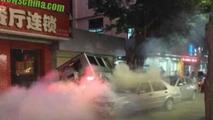 Mercedes-Benz G55 AMG crash