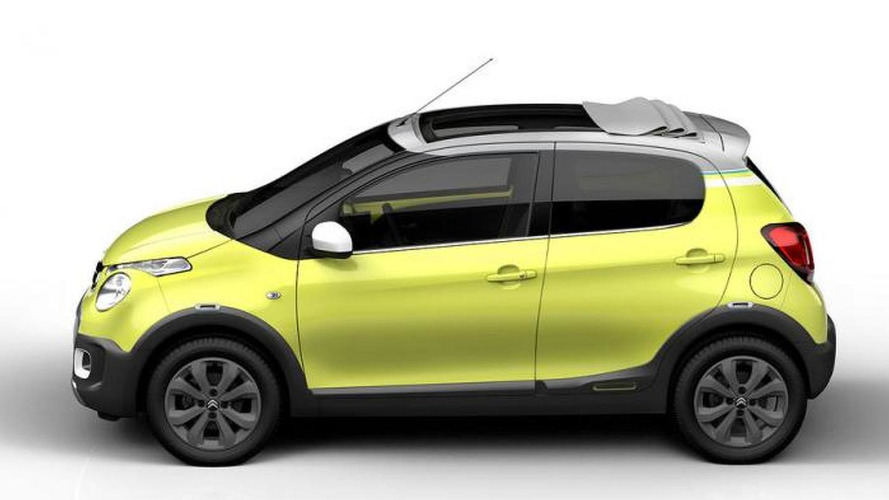 Citroen C1 Urban Ride concept announced for Paris