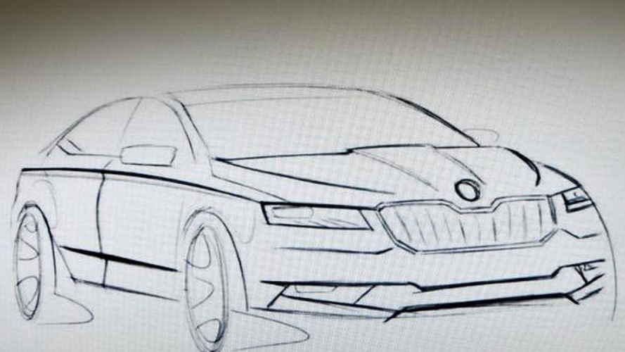 All-new Skoda Superb coming to 2015 Geneva Motor Show riding on Passat B8 platform
