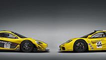 McLaren P1 GTR production version & McLaren F1 GTR chassis #06