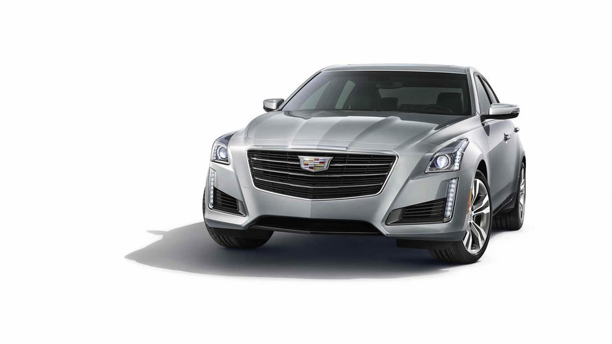 2015 Cadillac CTS officially introduced with revised fascia and new tech