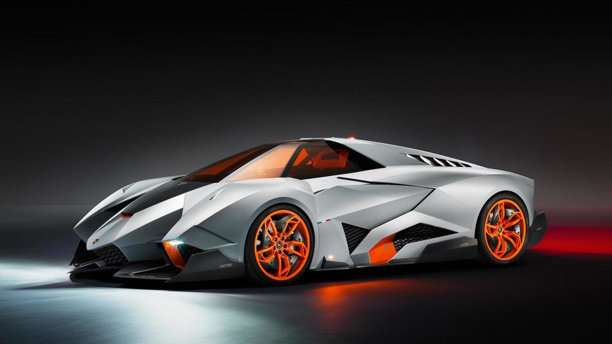 Lamborghini Egoista concept one-seater revealed [more photos added]