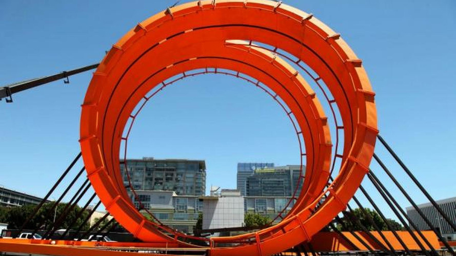 Spectacular Hot Wheels Double Dare Loop at X Games [video]