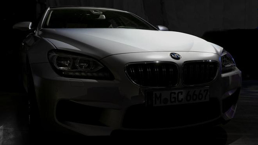 BMW follows M6 GranCoupe leak by releasing official teaser photos