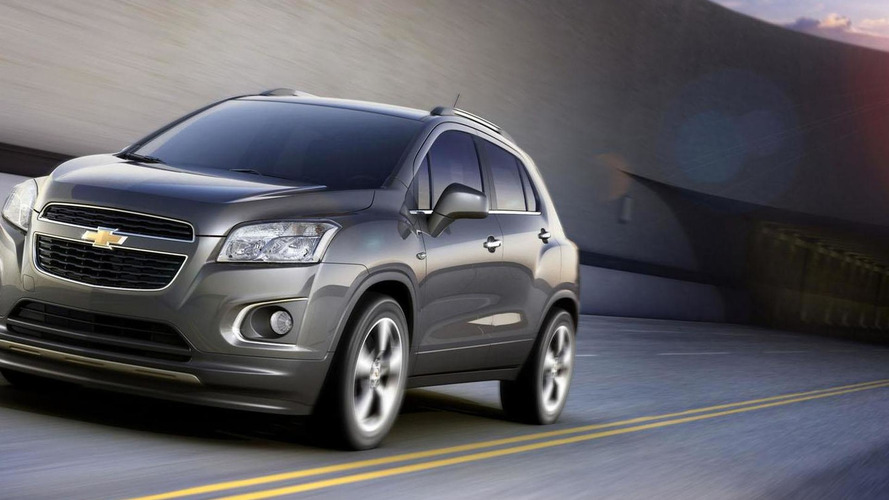 2013 Chevrolet Trax announced